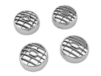 Chromed Air Vent Balls, OE Design, MX5 Mk3/3.5